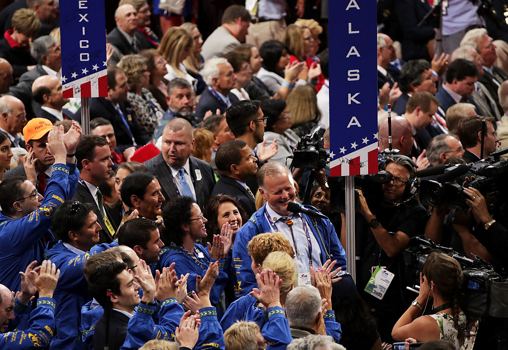 Delegates from Alaska at the 2016 Republican National Convention