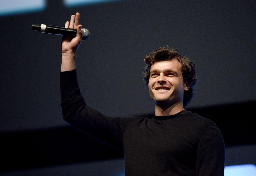 Alden Ehrenreich introduced at the London Star Wars Celebration