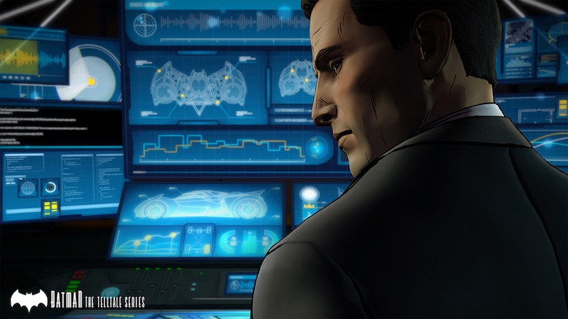Bruce Wayne in the Batcave | Source: Telltale Games