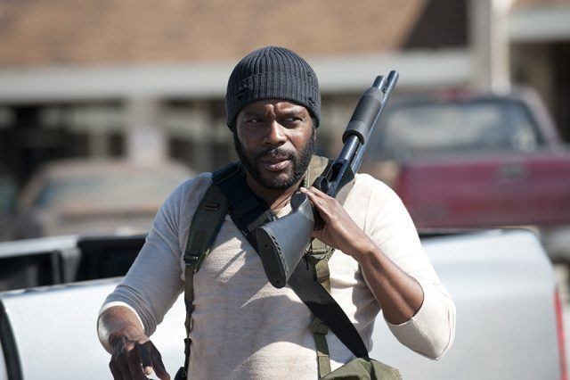 Tyreese (Chad L. Coleman) in a scene from AMC's 'The Walking Dead'