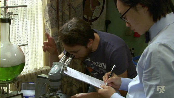 Charlie from 'Always Sunny' uses his inflated IQ scores and intelligence to conduct science experiments