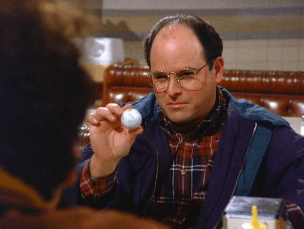 George Costanza, king of unusual jobs: Marine biologist and golf ball retrieval specialist