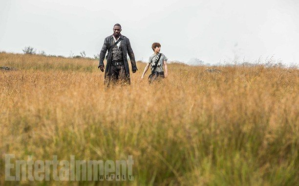 Idris Elba and Tom Tayllor in The Dark Tower | EW