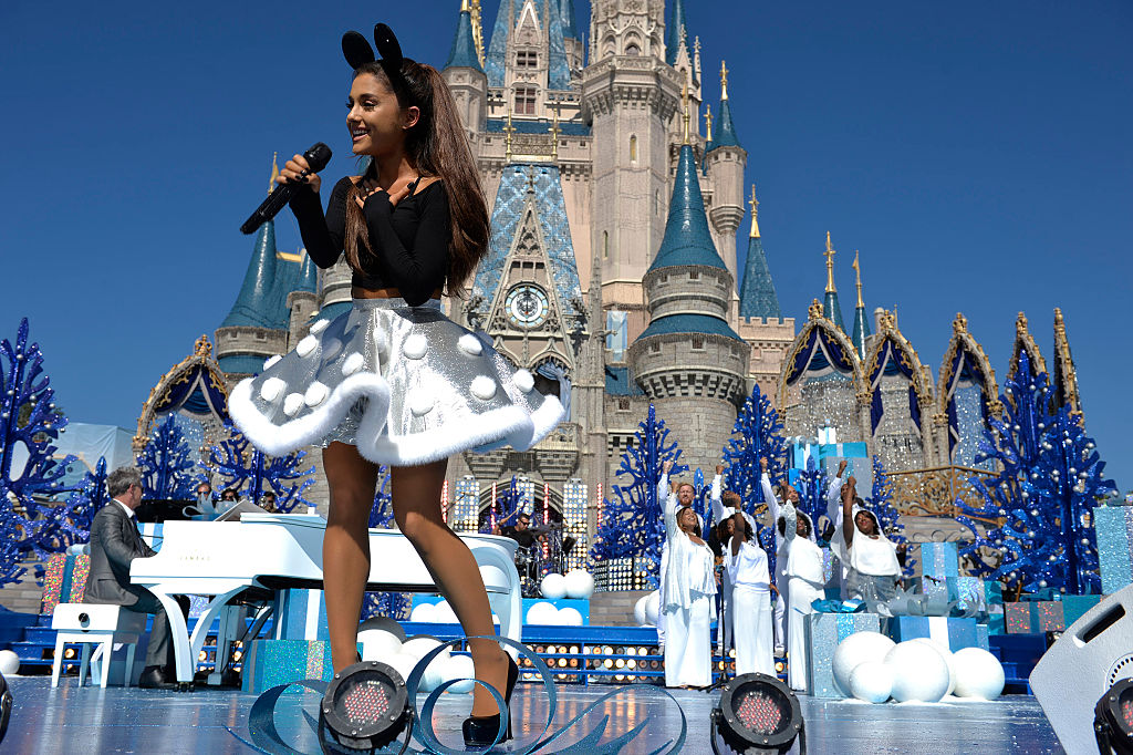 ariana grande at disney world
