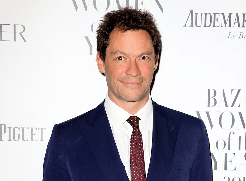 Actor Dominic West poses for cameras