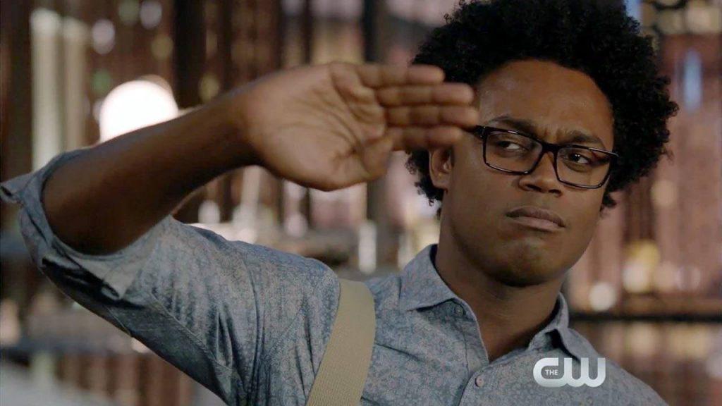 Echo Kellum as Curtis Holt on Arrow