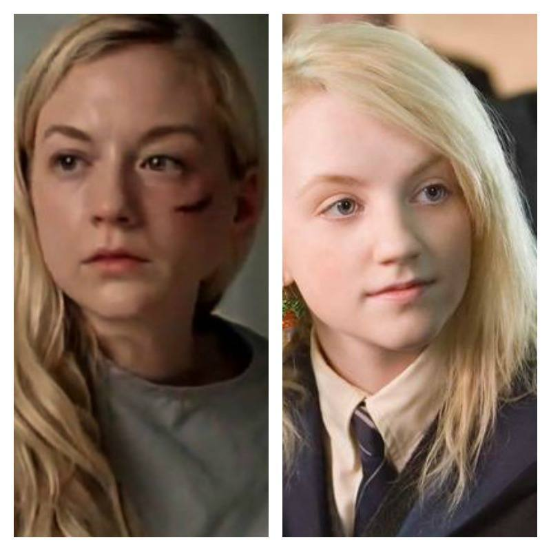 emily kinney and evanna lynch