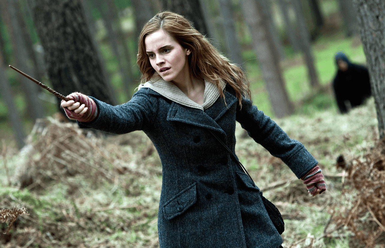 Emma Watson as Hermione in Harry Potter