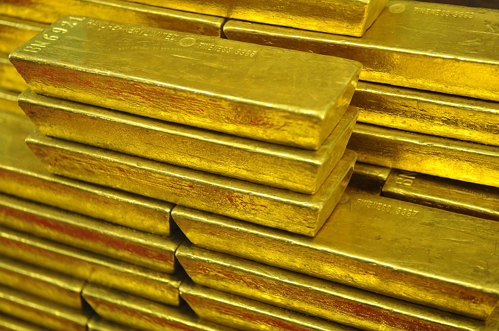 bars of gold