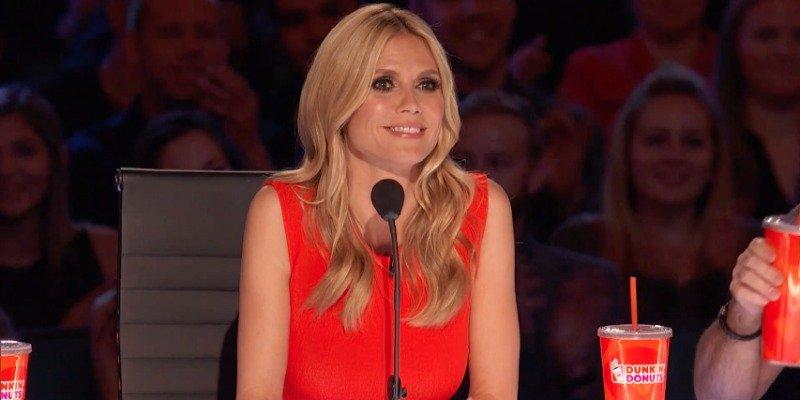 Heidi Klum on America's Got Talent