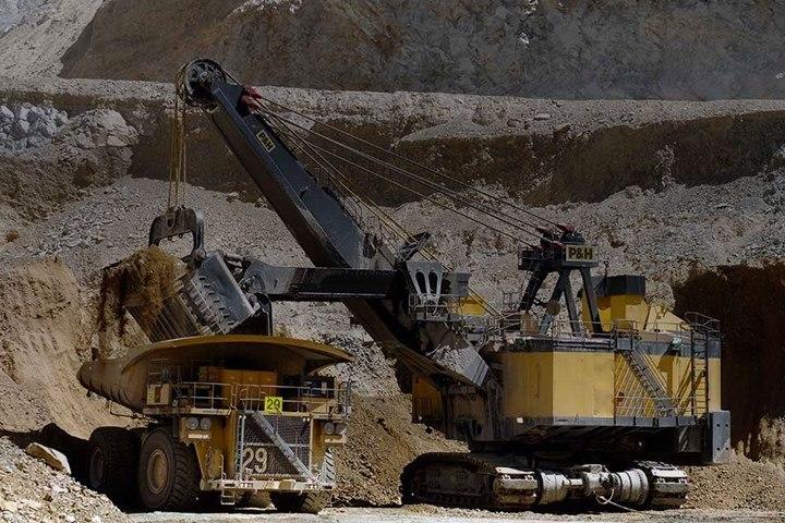 Antofagasta PLC mining equipment
