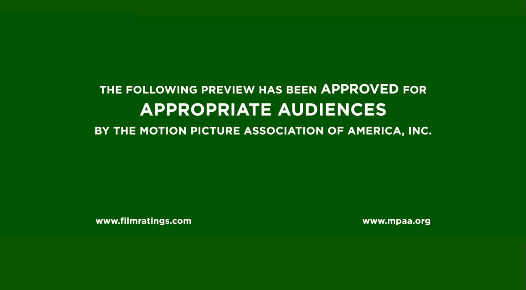 MPAA Trailer Card