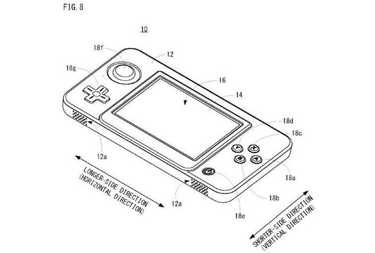 A patent that may or may not show the Nintendo NX.
