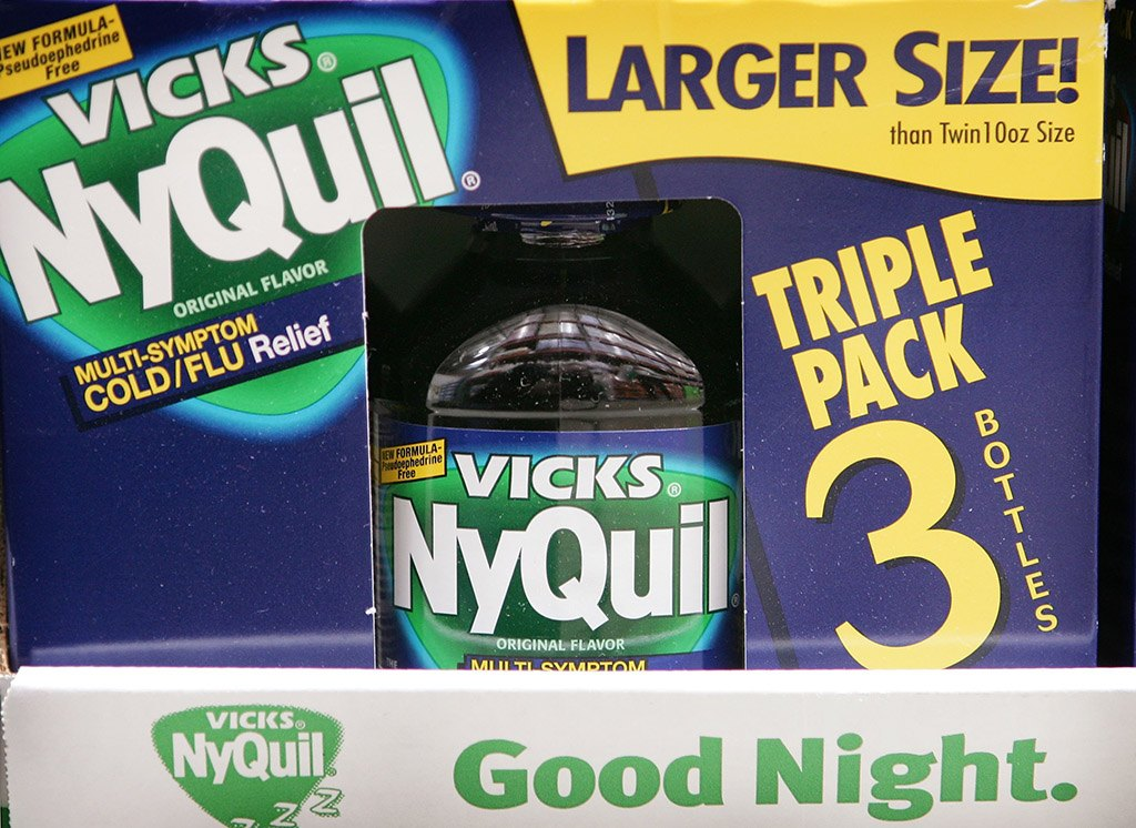 package of cold medication called NyQuil