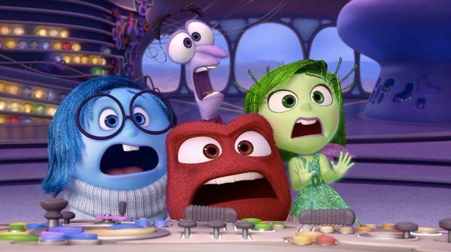 A still from the Walt Disney and Pixar film production Inside Out