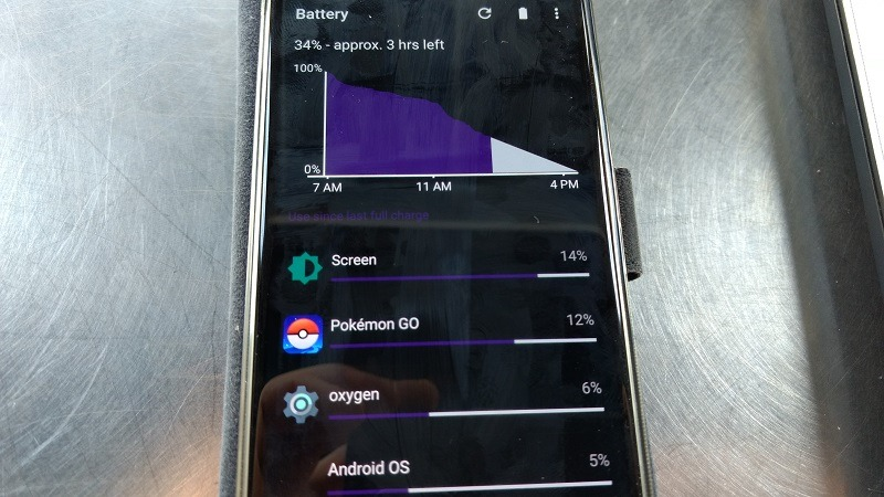 Pokemon GO uses a lot of battery
