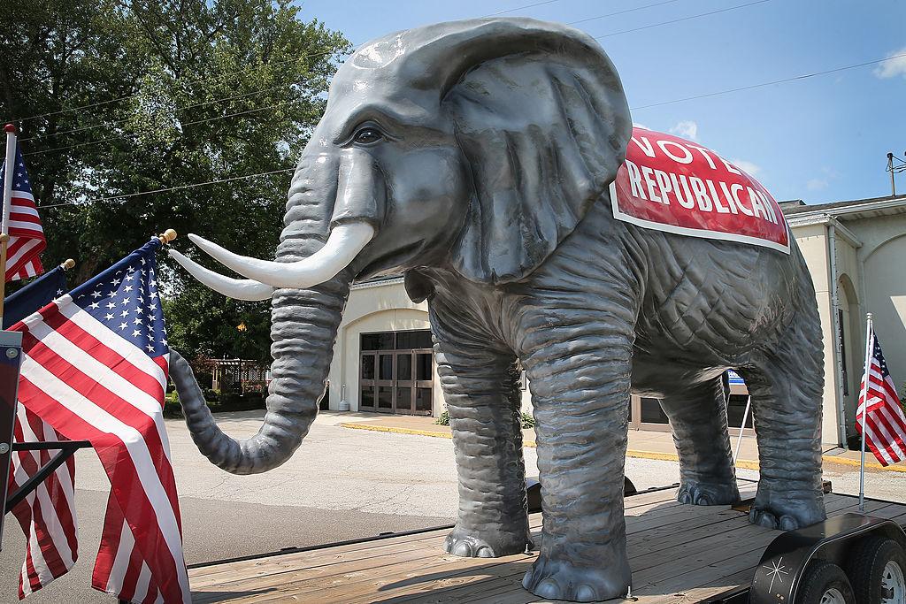 vote republican sign