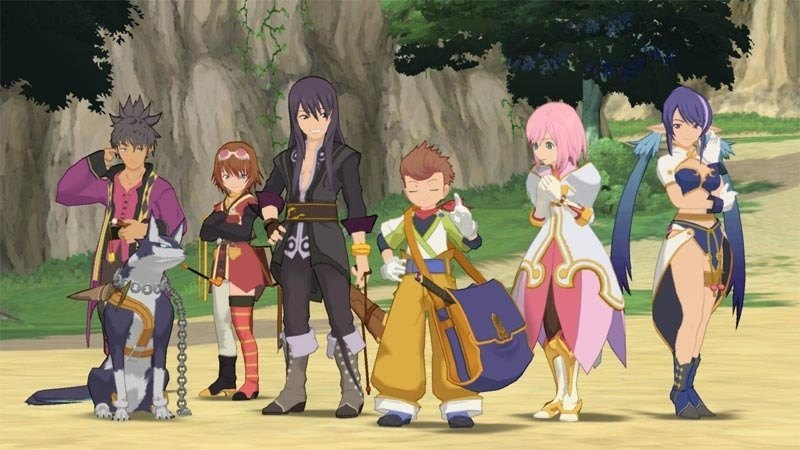 The group of heroes from Tales of Vesperia.