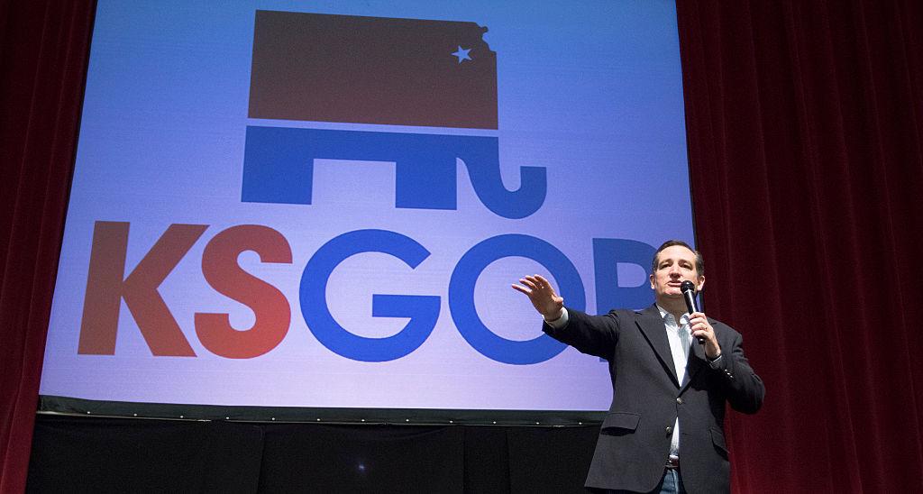 Ted Cruz at kansas campaign event
