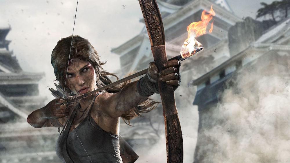 Lara Croft in 2013's 'Tomb Raider'