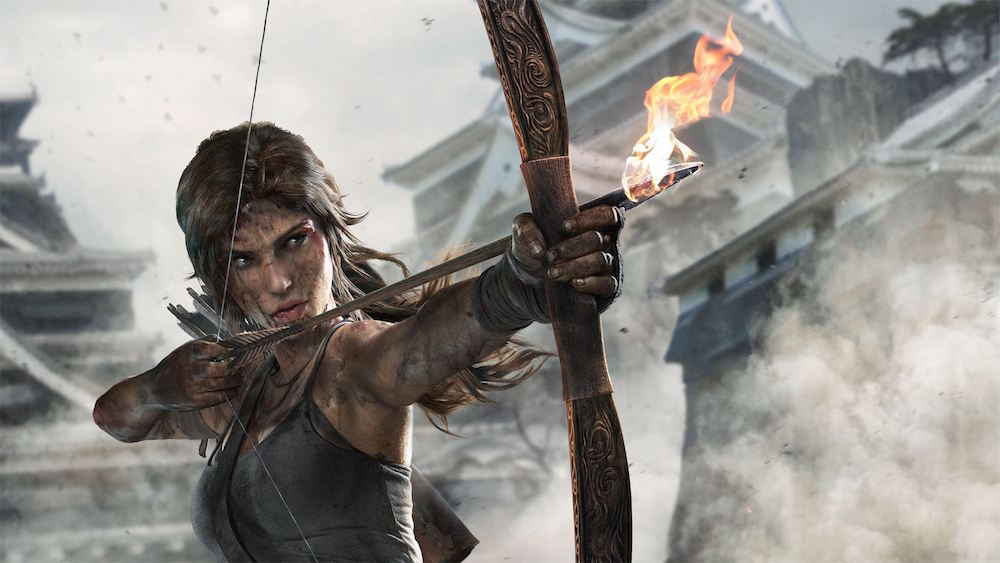 Lara Croft in 2013's 'Tomb Raider'