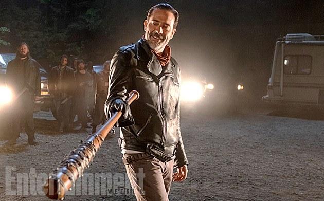 The Walking Dead's Negan   AMC via EW