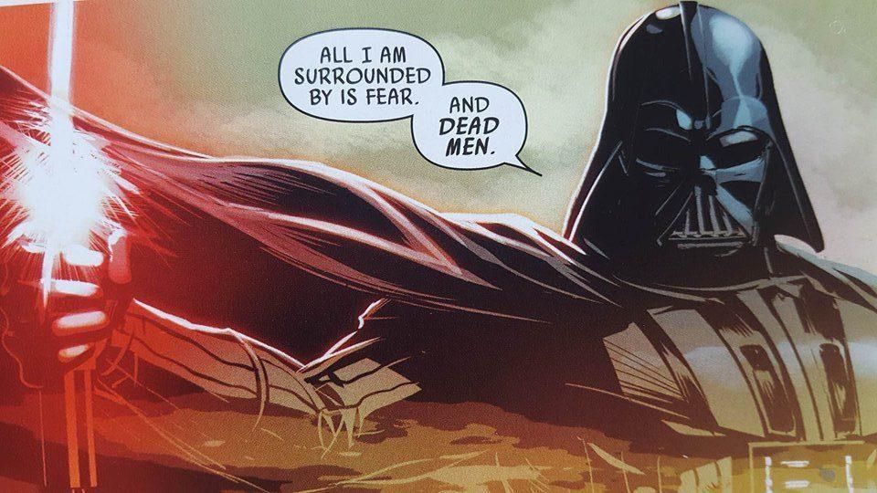 Vader Down Comic from Marvel - Darth Vader
