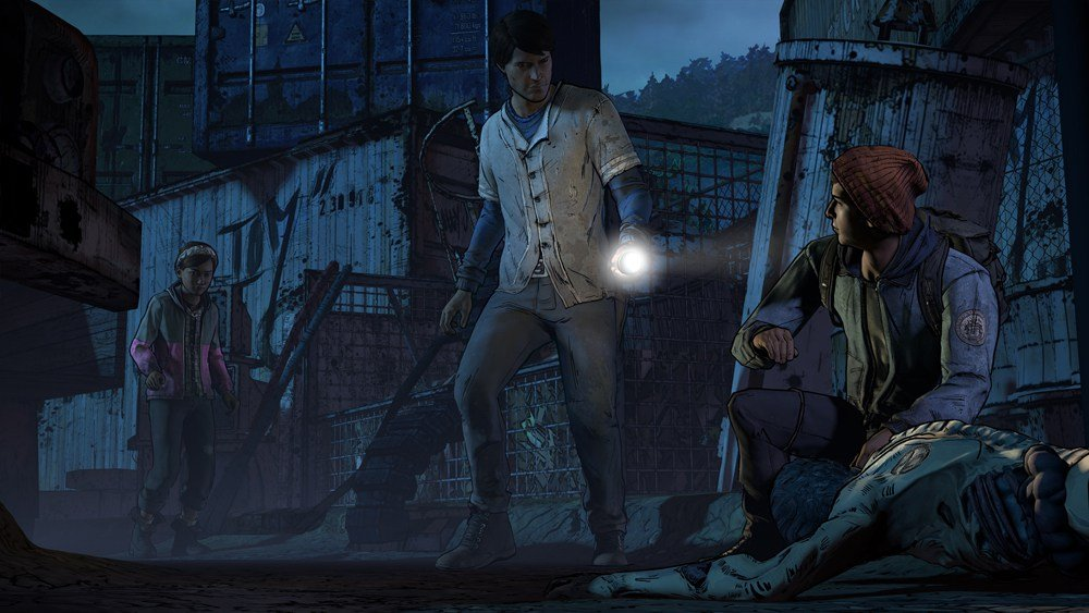 New characters in Season 3 of The Walking Dead adventure game.
