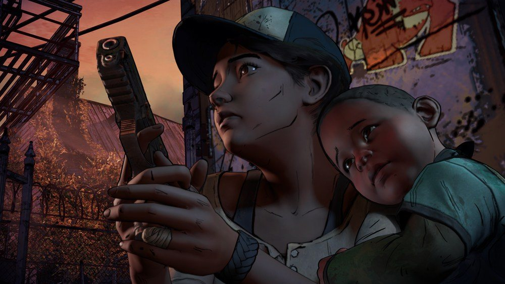 Clementine and AJ.