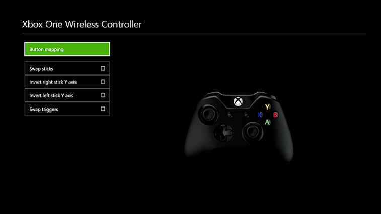 Xbox One remapping controller buttons.