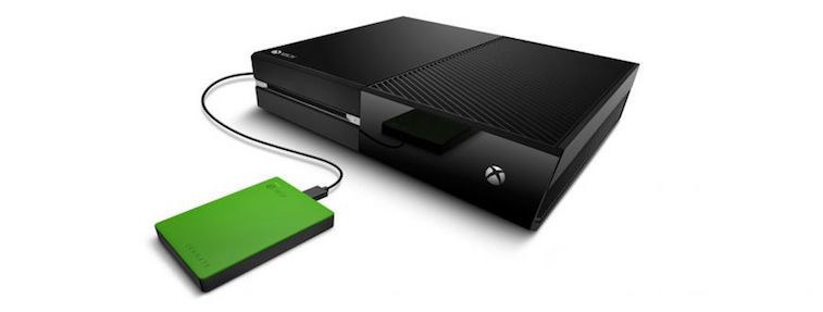 The Game Drive external hard drive for Xbox One.