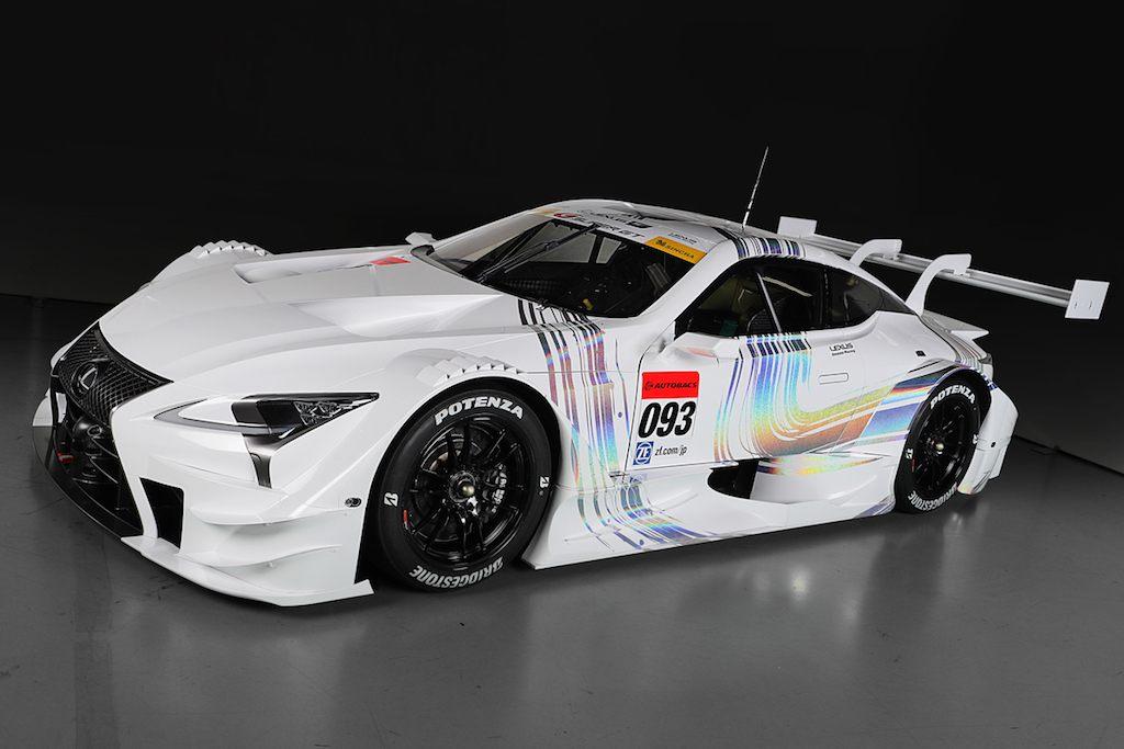 2017 Lexus LC500 Super GT|Toyota Japan