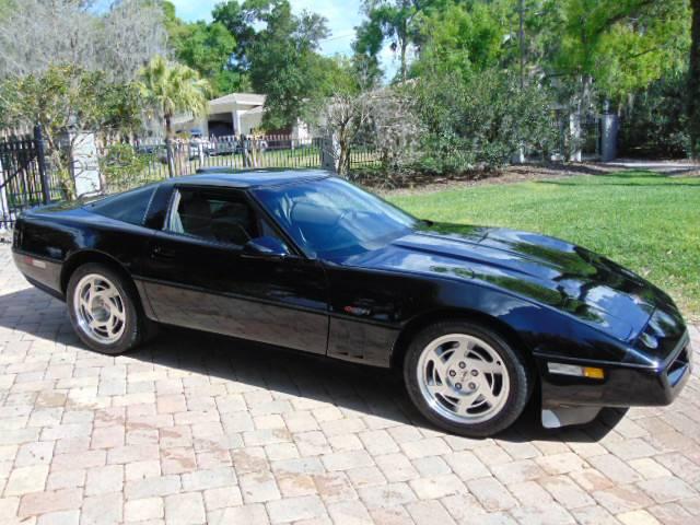 The 1990 Chevrolet Corvette ZR-1.