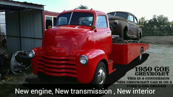 1950 Chevrolet car hauler