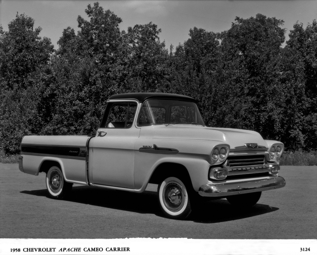 1958 Chevrolet Cameo Carrier
