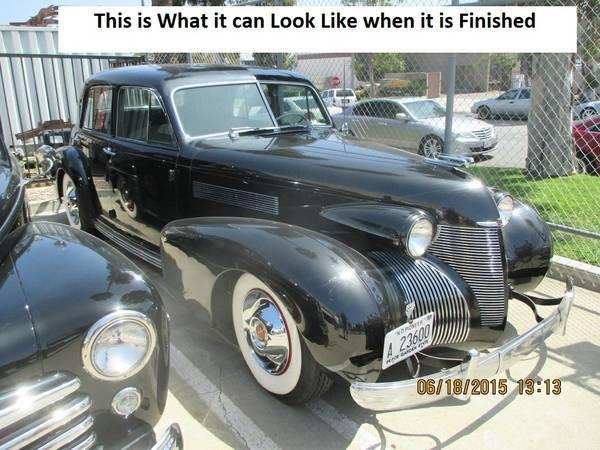 1940 Cadillac LaSalle