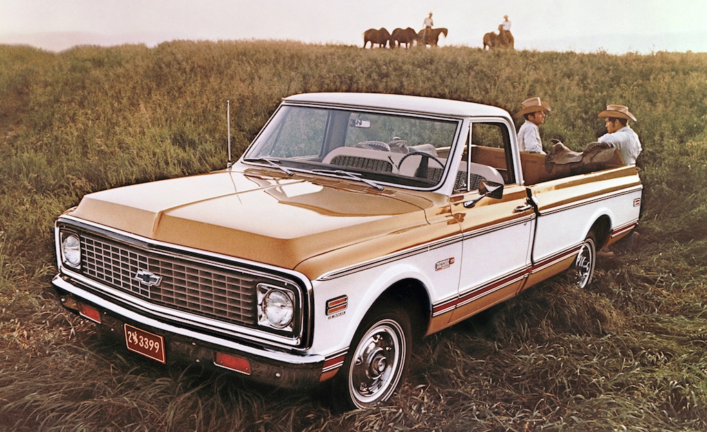 1971 Chevrolet C/10 Cheyenne Pickup
