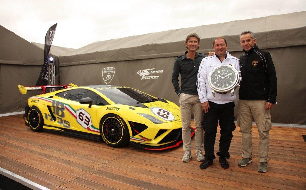 Stephan Winkelmann, Alain Delamuraz, and Maurizio Reggiani