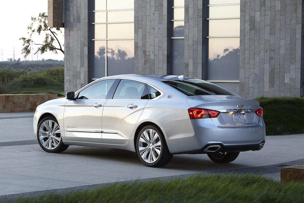 2016 Chevrolet Impala| Source: Chevrolet