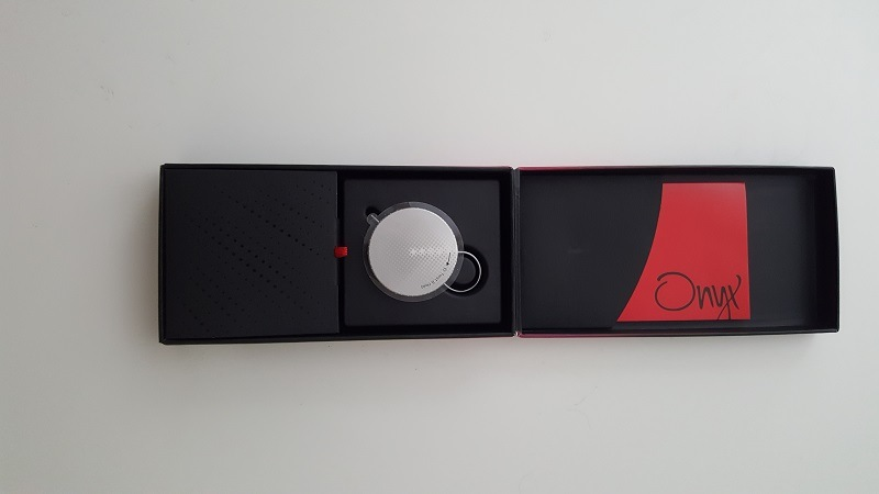 The Onyx badge, brand new in the package