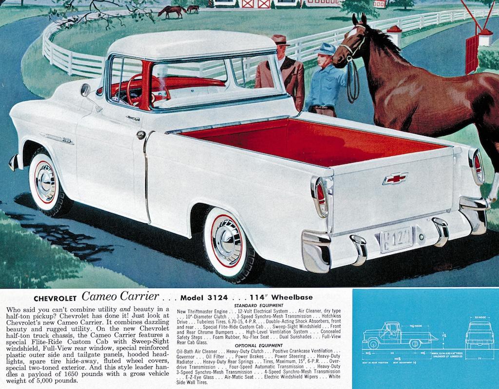 1956 Chevrolet Cameo Carrier