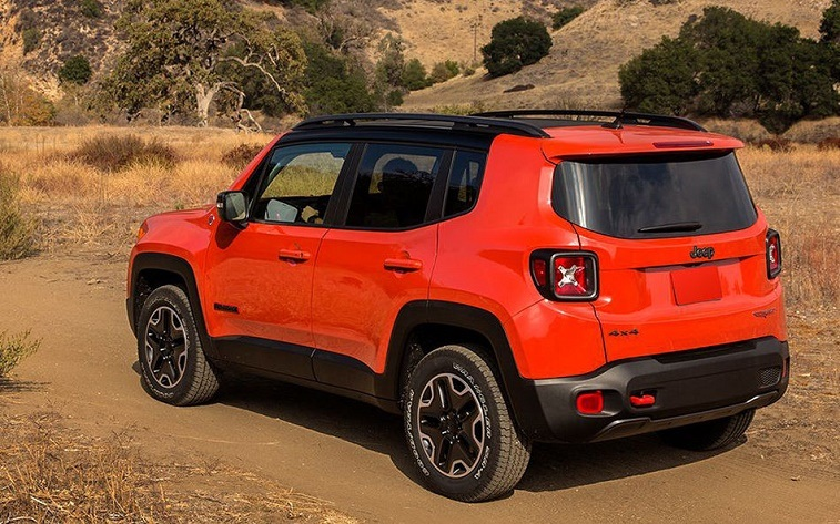 Jeep's 4WD models like Renegade had some of the highest risk of tipping over.