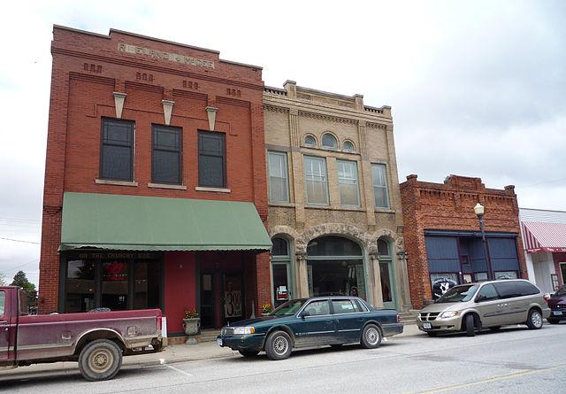 Harmony, Minnesota, street