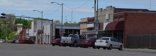 Curtis, Nebraska, street