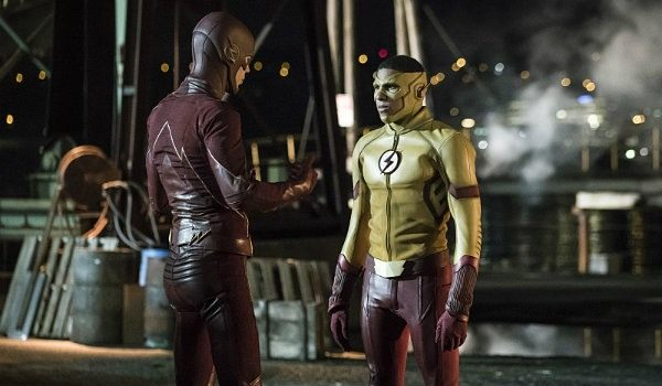 Wally West and Barry Flash on The Flash Season 3   The CW