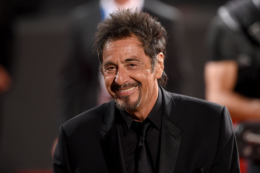 Al Pacino attends 'The Humbling' premiere