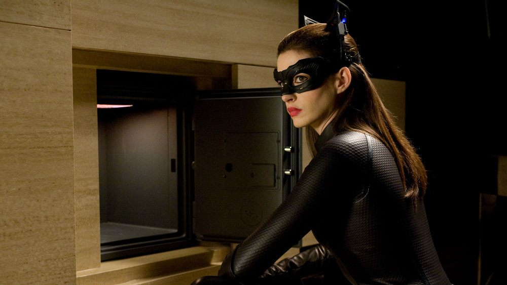 Anne Hathaway in The Dark Knight Rises