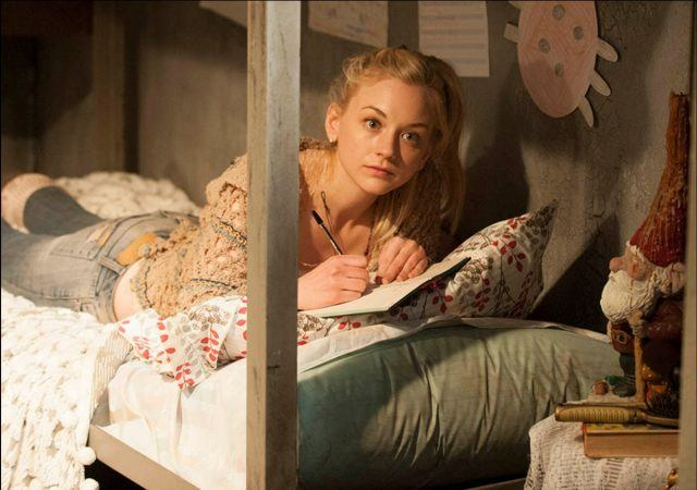 Beth Greene (Emily Kinney) at the prison in AMC's 'The Walking Dead.'
