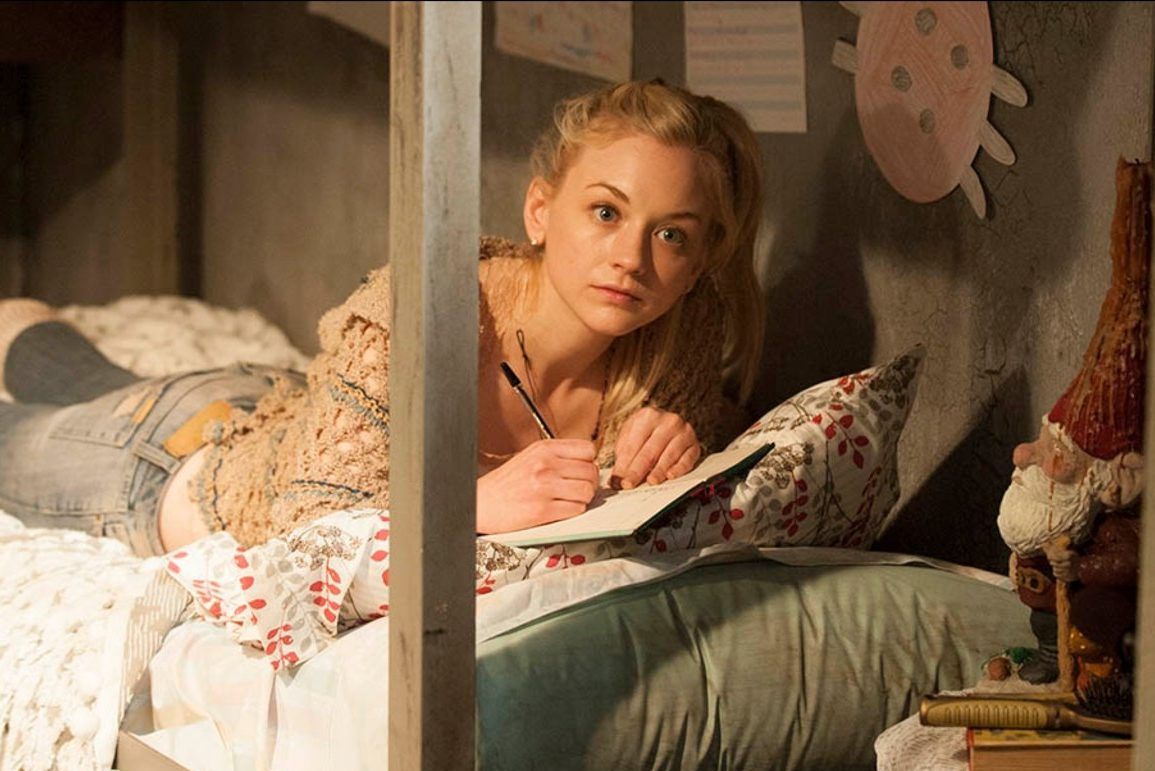 Emily Kinney as Beth Greene on The Walking Dead.