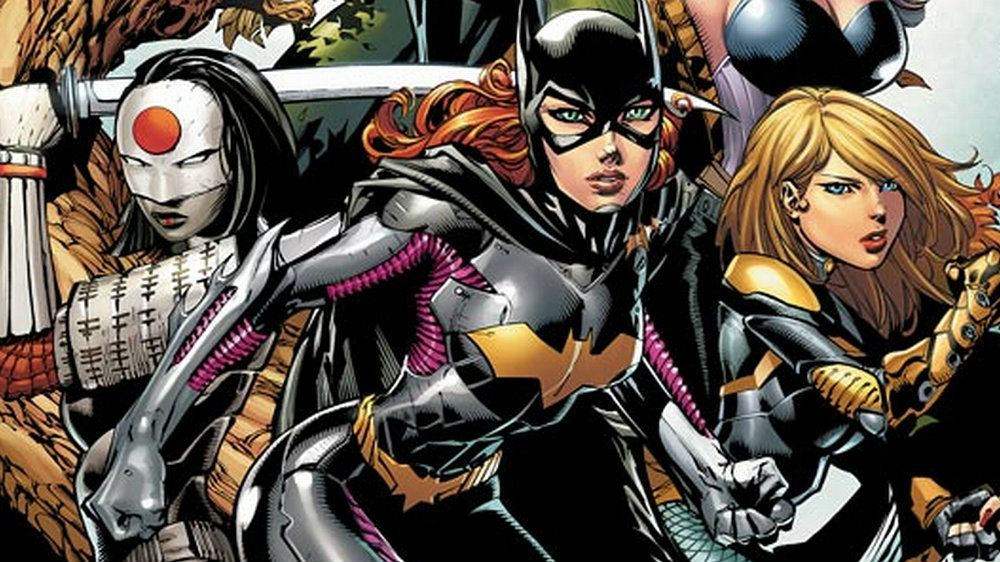 Batgirl leads the Birds of Prey in a DC Comics issue